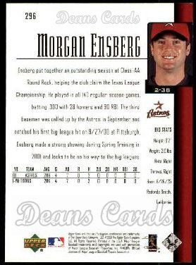 2001 Upper Deck #296  Morgan Ensberg