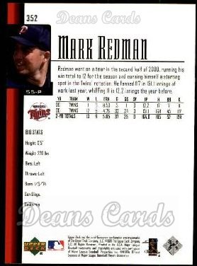 2001 Upper Deck #352  Mark Redman