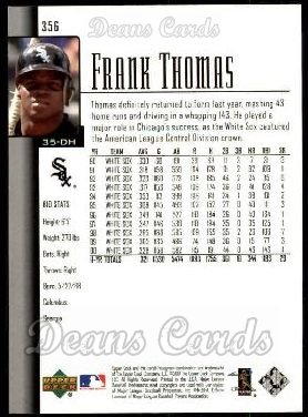 2001 Upper Deck #356  Frank Thomas