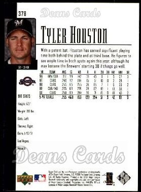 2001 Upper Deck #378  Tyler Houston