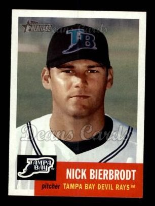 2002 Topps Heritage #367  Nick Bierbrodt