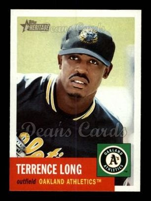 2002 Topps Heritage #394  Terrence Long