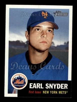 2002 Topps Heritage #396  Earl Snyder