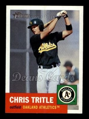 2002 Topps Heritage #402  Chris Tritle