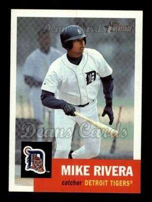 2002 Topps Heritage #412  Mike Rivera