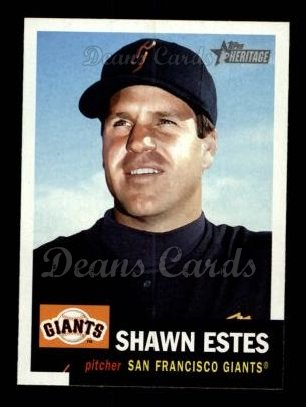 2002 Topps Heritage #413  Shawn Estes