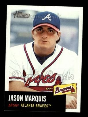 2002 Topps Heritage #429  Jason Marquis