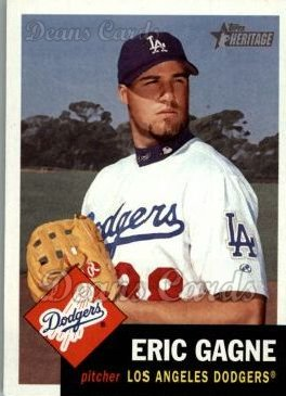 2002 Topps Heritage #180  Eric Gagne