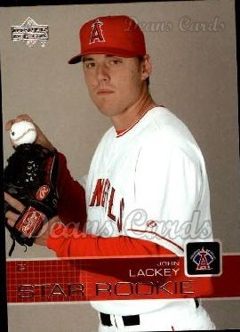 2003 Upper Deck #1   -  John Lackey Star Rookie
