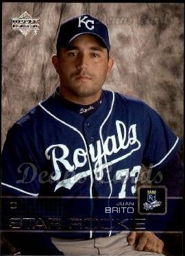 2003 Upper Deck #13   -  Juan Brito Star Rookie