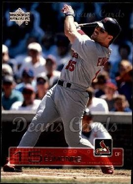 2003 Upper Deck #158  Jim Edmonds