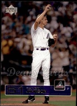 2003 Upper Deck #176  Randy Johnson