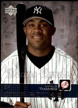 2003 Upper Deck #20   -  Marcus Thames Star Rookie