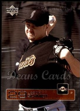 2003 Upper Deck #205  Jason Schmidt
