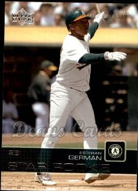 2003 Upper Deck #21   -  Esteban German Star Rookie