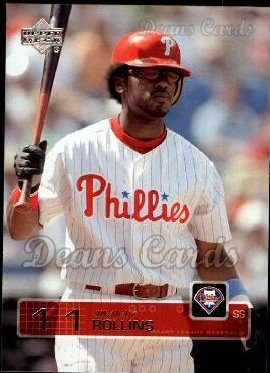 2003 Upper Deck #235  Jimmy Rollins