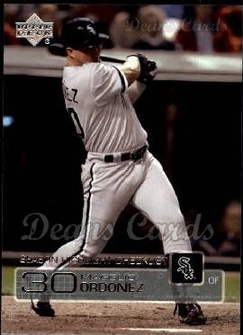 2003 Upper Deck #269   -  Magglio Ordonez Season Highlights
