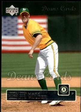 2003 Upper Deck #282  Mark Mulder