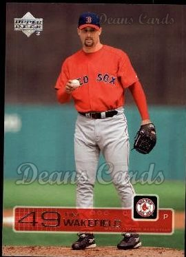 2003 Upper Deck #333  Tim Wakefield