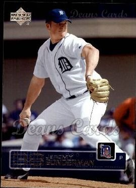 2003 Upper Deck #347  Jeremy Bonderman