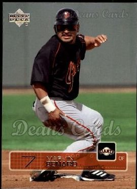 2003 Upper Deck #441  Marvin Benard