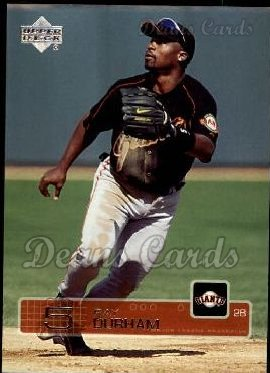 2003 Upper Deck #445  Ray Durham