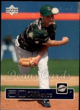 2003 Upper Deck #468  Brian Lawrence