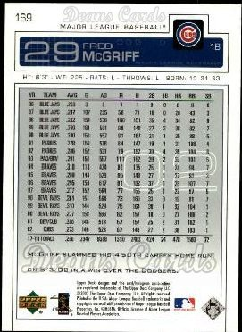 2003 Upper Deck #169  Fred McGriff