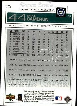 2003 Upper Deck #313  Mike Cameron