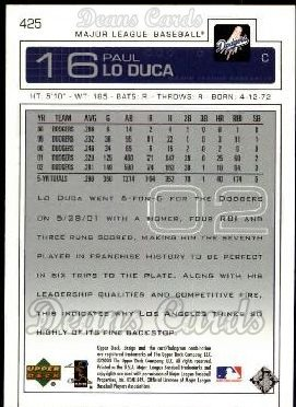 2003 Upper Deck #425  Paul Lo Duca