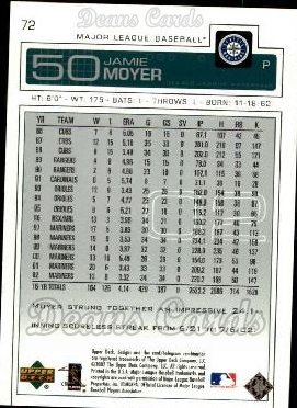 2003 Upper Deck #72  Jamie Moyer
