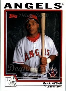 2004 Topps Traded #171 T  -  Erick Aybar First Year