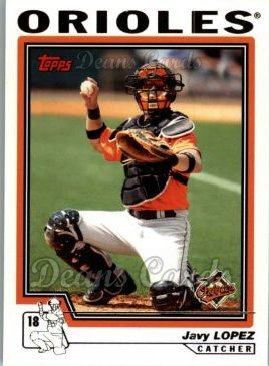 2004 Topps Traded #20 T Javy Lopez