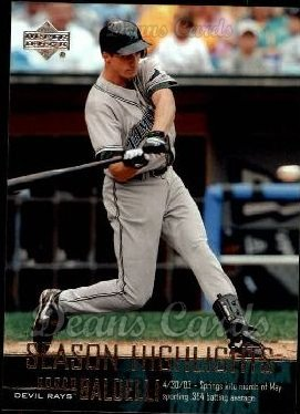 2004 Upper Deck #266   -  Rocco Baldelli Season Highlights