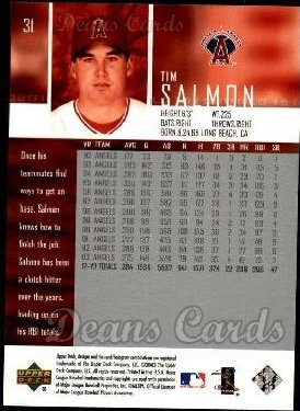 2004 Upper Deck #31  Tim Salmon