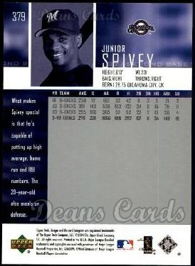 2004 Upper Deck #379  Junior Spivey