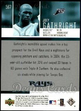 2004 Upper Deck #567  Joey Gathright