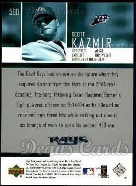 2004 Upper Deck #590  Scott Kazmir