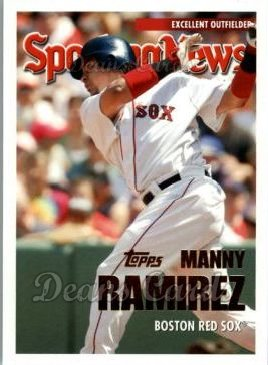2005 Topps Update #153   -  Manny Ramirez All-Star