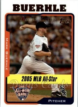 2005 Topps Update #184   -  Mark Buehrle All-Star