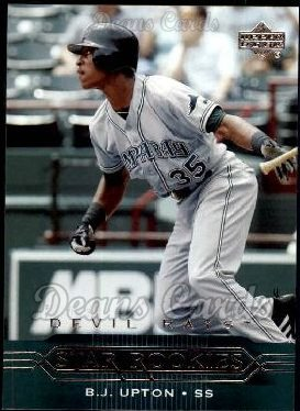 2005 Upper Deck #212   -  B.J. Upton Star Rookie