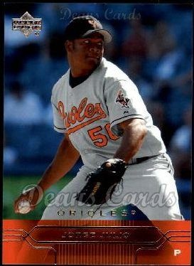 2005 Upper Deck #25  Jorge Julio
