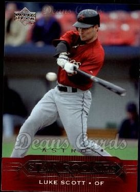 2005 Upper Deck #431   -  Luke Scott Star Rookie