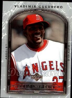 2005 Upper Deck #470   -  Vladimir Guerrero Best of a Generation