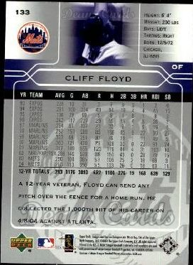2005 Upper Deck #133  Cliff Floyd