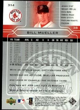 2005 Upper Deck #314  Bill Mueller
