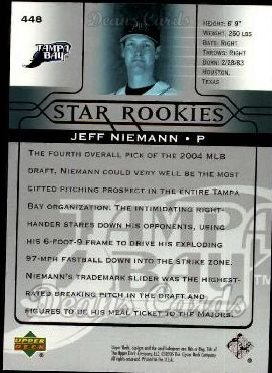 2005 Upper Deck #448   -  Jeff Niemann Star Rookie