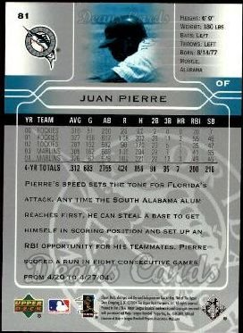 2005 Upper Deck #81  Juan Pierre