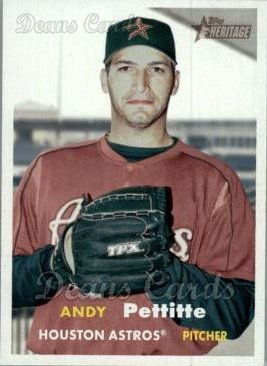 2006 Topps Heritage #104  Andy Pettitte