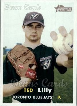 2006 Topps Heritage #12  Ted Lilly